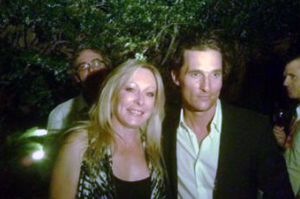 Keran and Matthew McConaughey @ The Lincoln Lawyer premiere