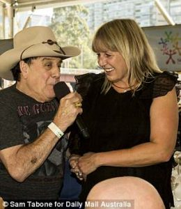 Network Video Ambassador Molly Meldrum with Mandy